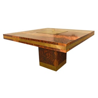 Willy Rizzo Dining Table For Sale