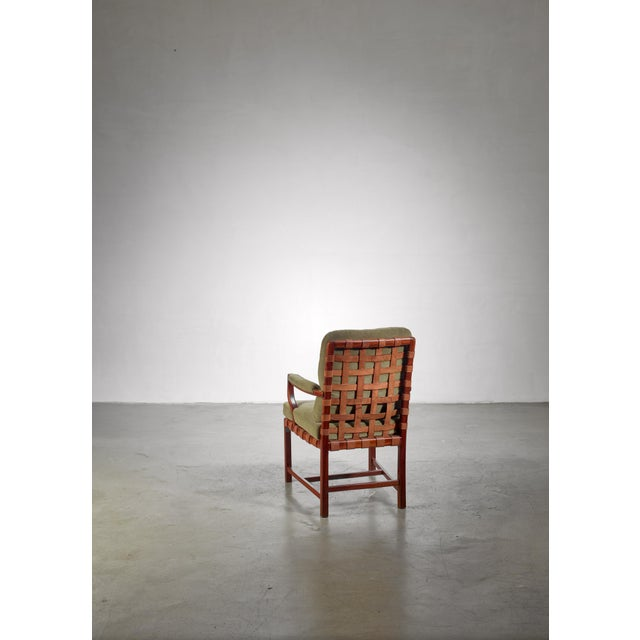 1930s Walter Sobotka Armchair, Austria, Circa 1930 For Sale - Image 5 of 11