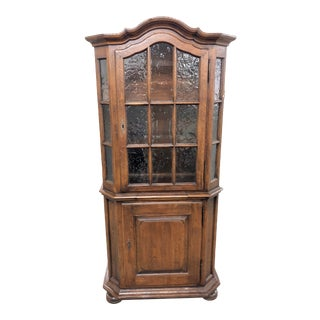 1900s Hutch/Cupboard With Pull Out Slide For Sale