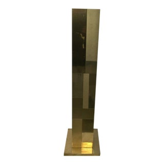 Paul Evans Attributed Cityscape Floor Lamp For Sale