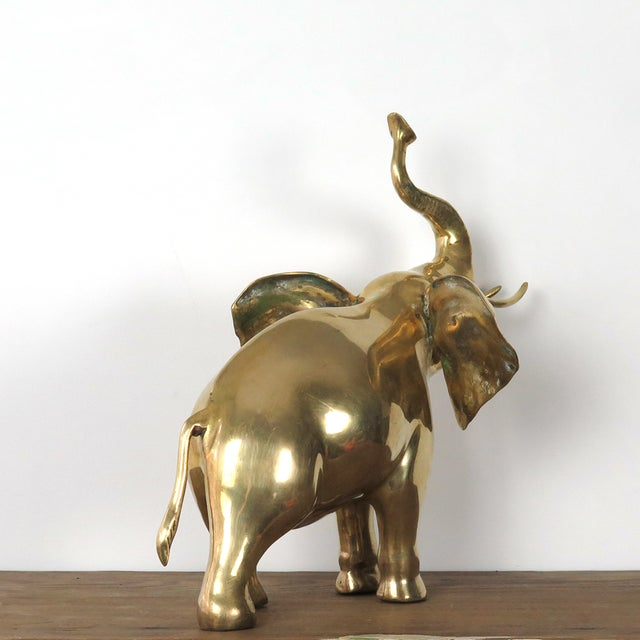 Brass Elephant Figurine - Image 7 of 10