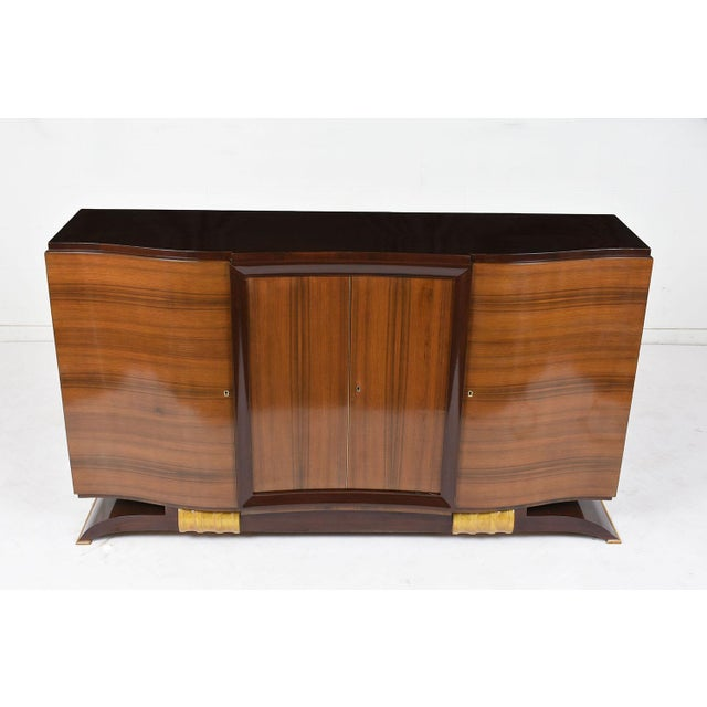 Art Deco Traditional French Art Deco Buffet For Sale - Image 3 of 9