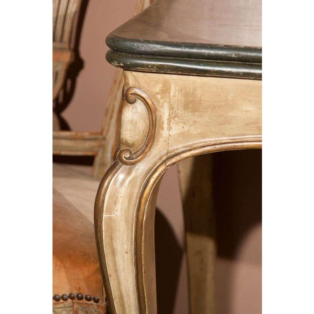 Painted French Console For Sale - Image 4 of 6
