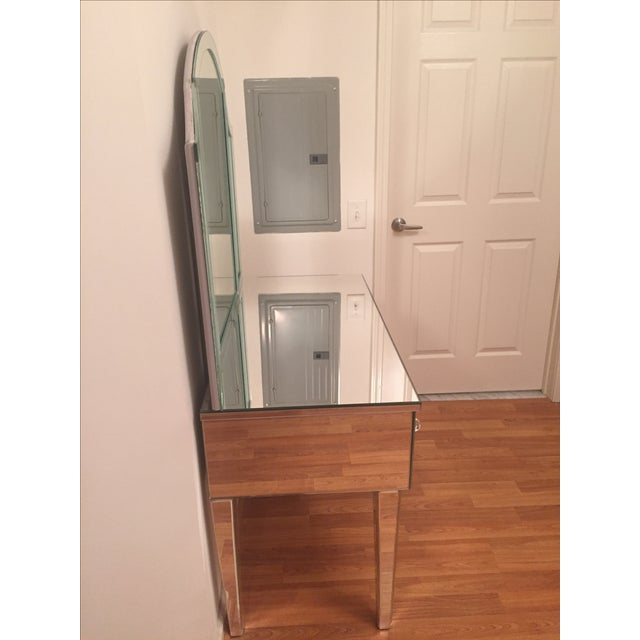 Venfield Custom Mirrored Vanity with Tryptic - Image 3 of 5