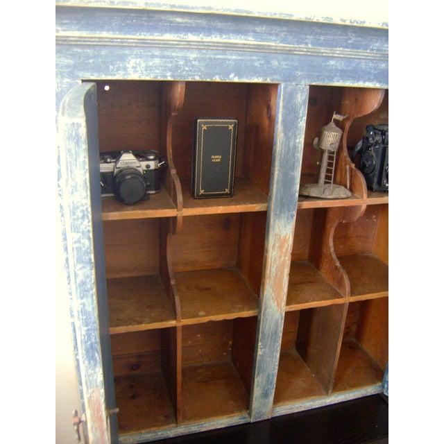Antique Handmade Pine Hanging Cabinet - Image 9 of 9