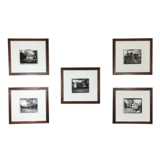 20th Century Contemporary Gallery Wall Collection of Black and White Photography - 5 Pieces For Sale