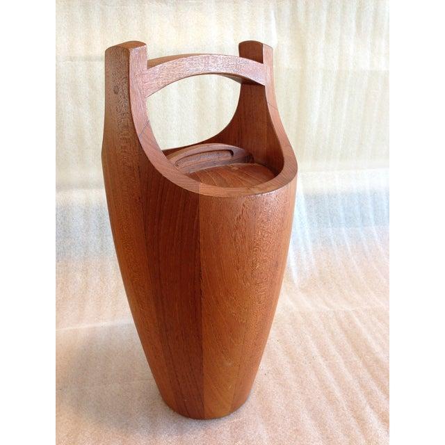 Jens Quistgaard for Dansk Teak Ice Bucket - Image 4 of 10