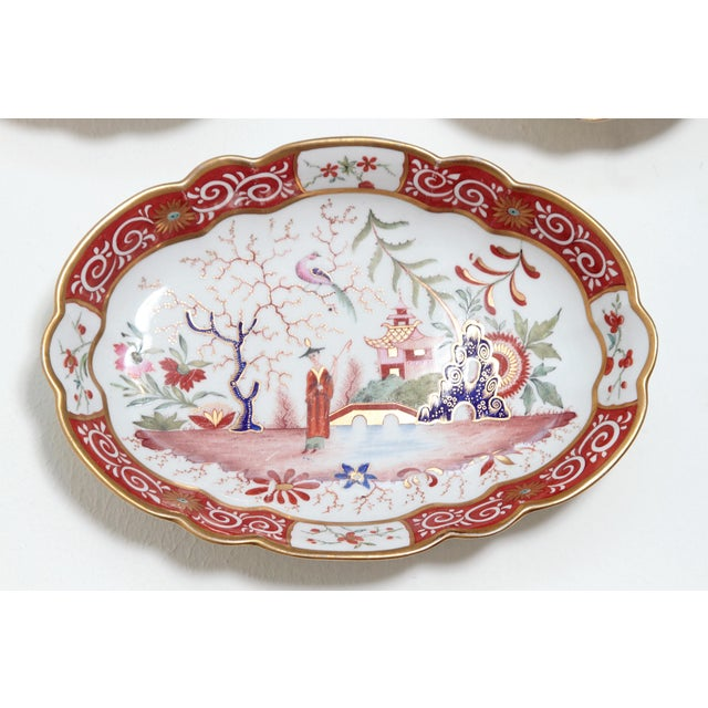 Chamberlain's Worchester, Flight, Barr and Barr Porcelain Dessert Service For Sale In Dallas - Image 6 of 11