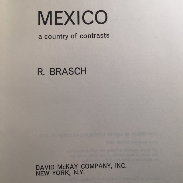 Mexico a Country of Contrasts Book, 1967 For Sale - Image 4 of 10