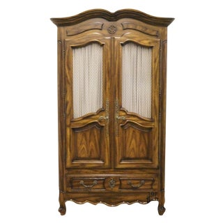 Century Furniture Country French Armoire For Sale