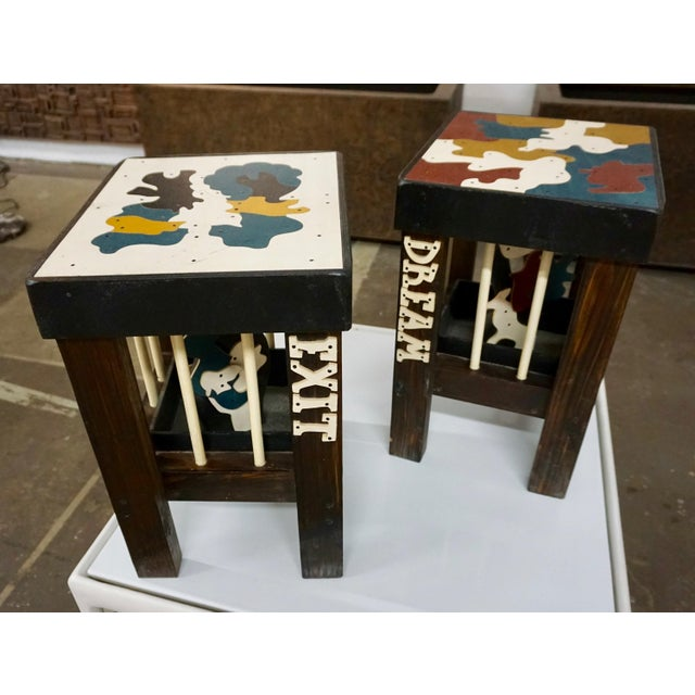 2000 - 2009 Art Stools by Thorsten Passfeld- Set of 6 For Sale - Image 5 of 9