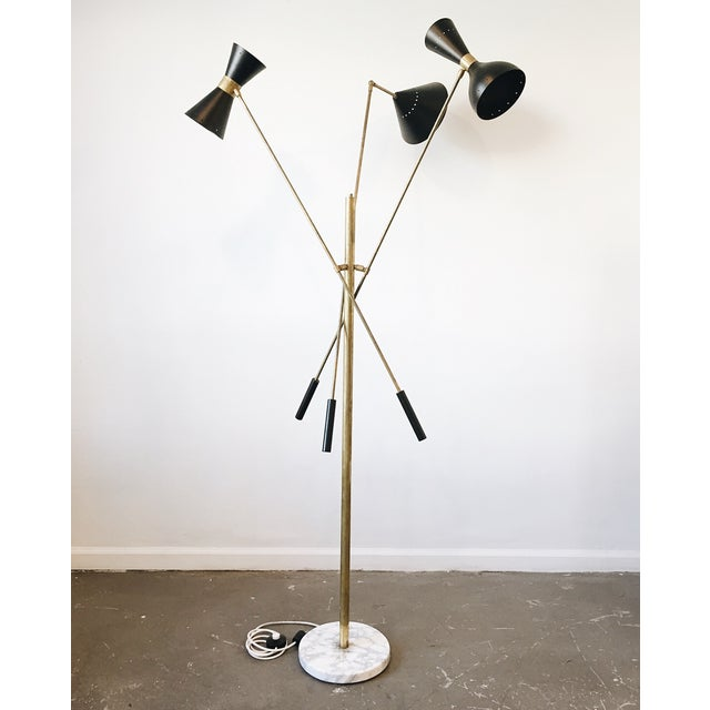 Vintage Italian Floor Lamp - Image 2 of 4