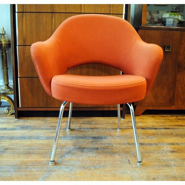 Mid Century Executive Armchair by Eero Saarinen for Knoll-1960's - Image 12 of 12