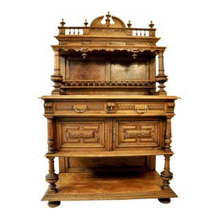 19th Century Louis XV French Sideboard Buffet Server For Sale