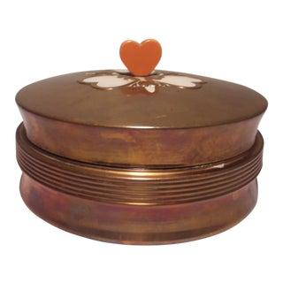 Art Deco Chase Vanity Powder Jar