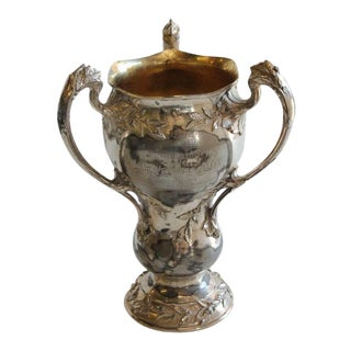 1910's Indoor Rifle League Loving Cup For Sale
