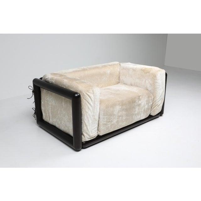 Carlo Scarpa 'Cornaro' Lounge Chair for Simon, 1973 For Sale - Image 6 of 12