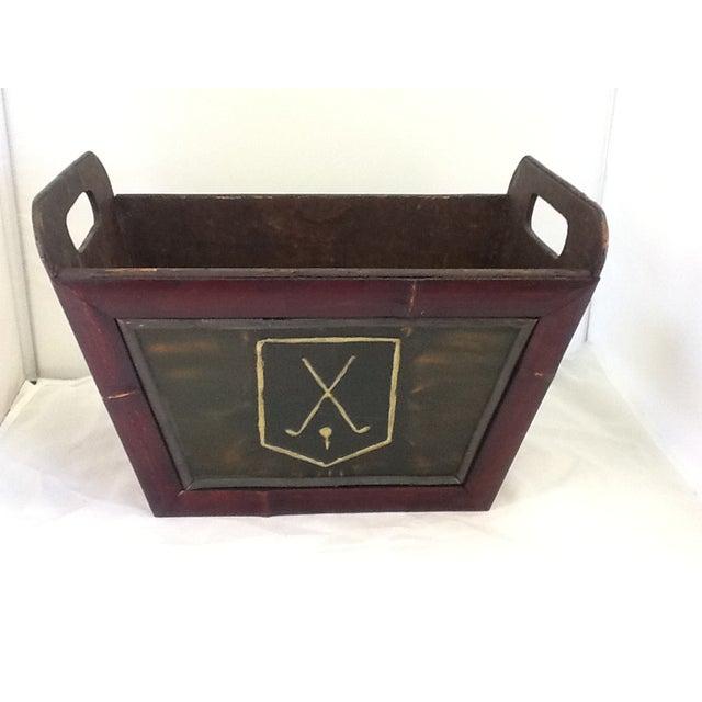 Vintage Golf Motif Box - Image 2 of 8