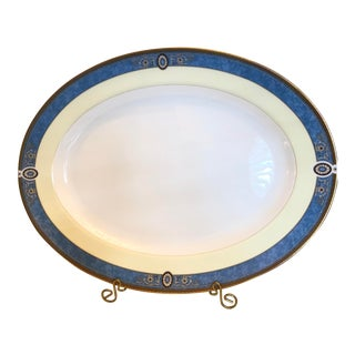 Rare Wedgewood Madeleine Bone China Large Serving Platter Hard to Find Discontinued Pattern For Sale