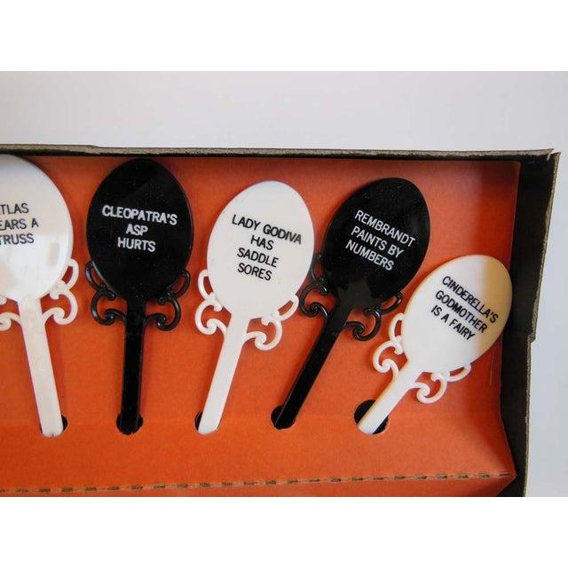 Mid Century Vintage Novelty Swizzle Sticks - Image 5 of 6