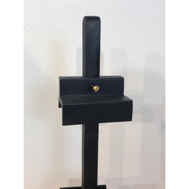 Regency Style Ebonized Dual Sided Table Easel For Sale - Image 9 of 11