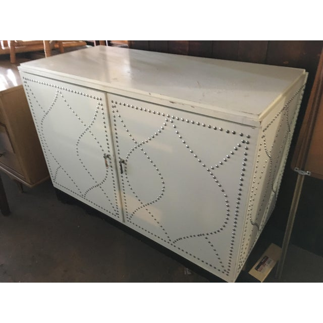 White Dry Bar Cabinet - Image 2 of 11
