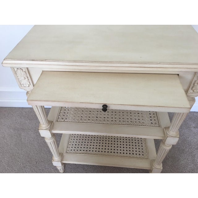 Ethan Allen Elise Side Table - Image 4 of 8