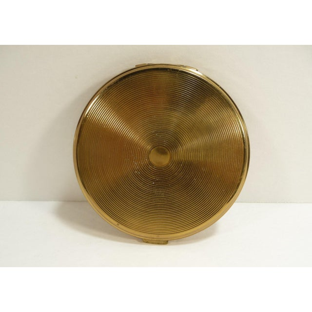 Mid-Century Asian Hollywood Glam Mirrored Compact - Image 7 of 7