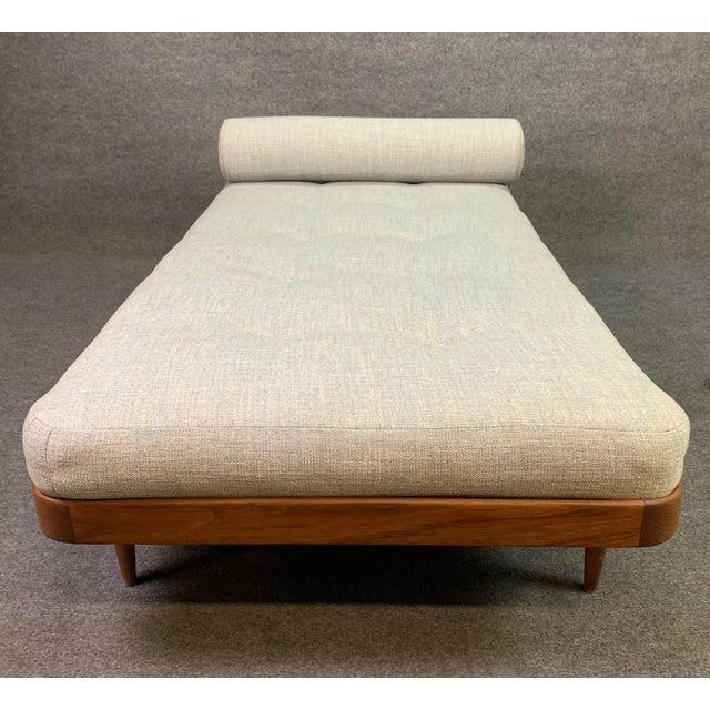 Wood 1960s Vintage Danish Mid Century Modern Teak Daybed For Sale - Image 7 of 11
