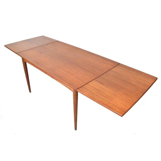 Mid-Century Skovmand Andersen Teak Dining Table For Sale