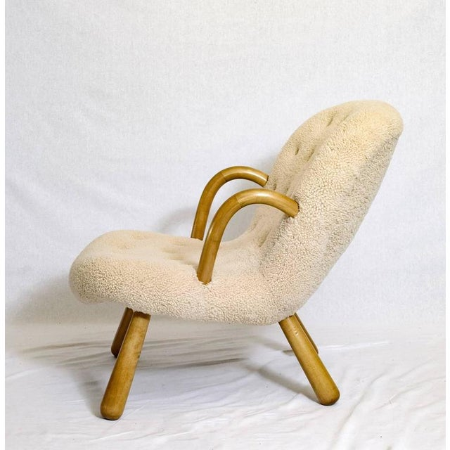 "Philip Arctander ""Clam"" Chair For Sale In Los Angeles - Image 6 of 10"