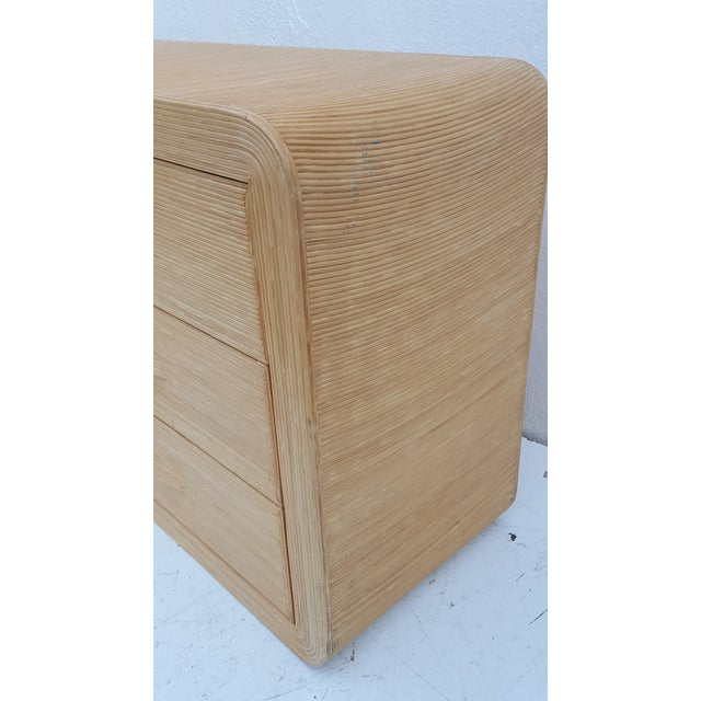 Gabriella Crespi Style Rattan Dresser. - Image 8 of 11