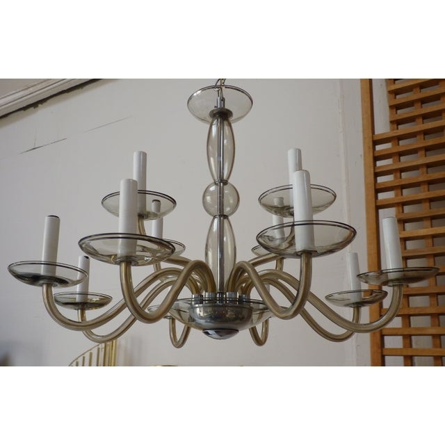 Murano Chandelier c.1960's - Image 2 of 4