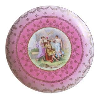 "Austrian ""Victoria"" Decorative Plate For Sale"