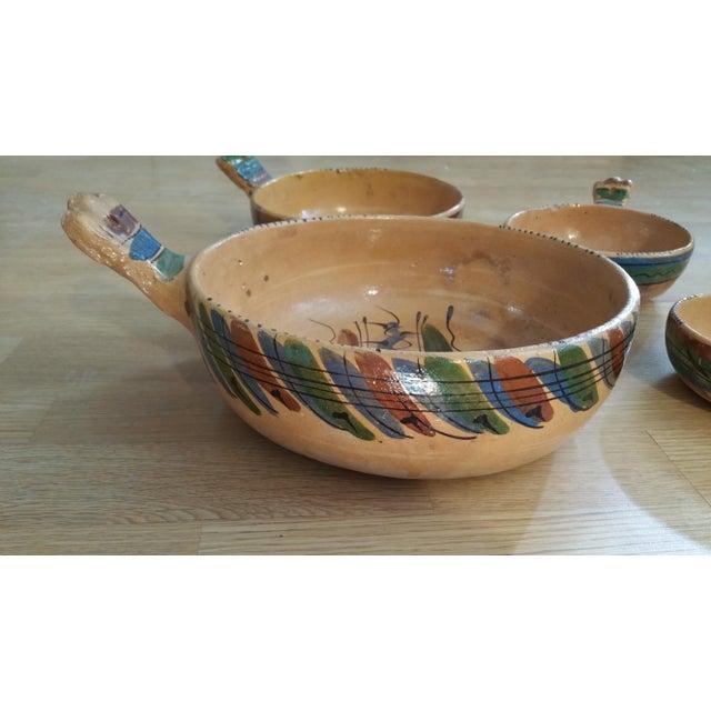 Mexico Tlaquepaque Nesting Chili Bowls - Set of 4 - Image 2 of 8
