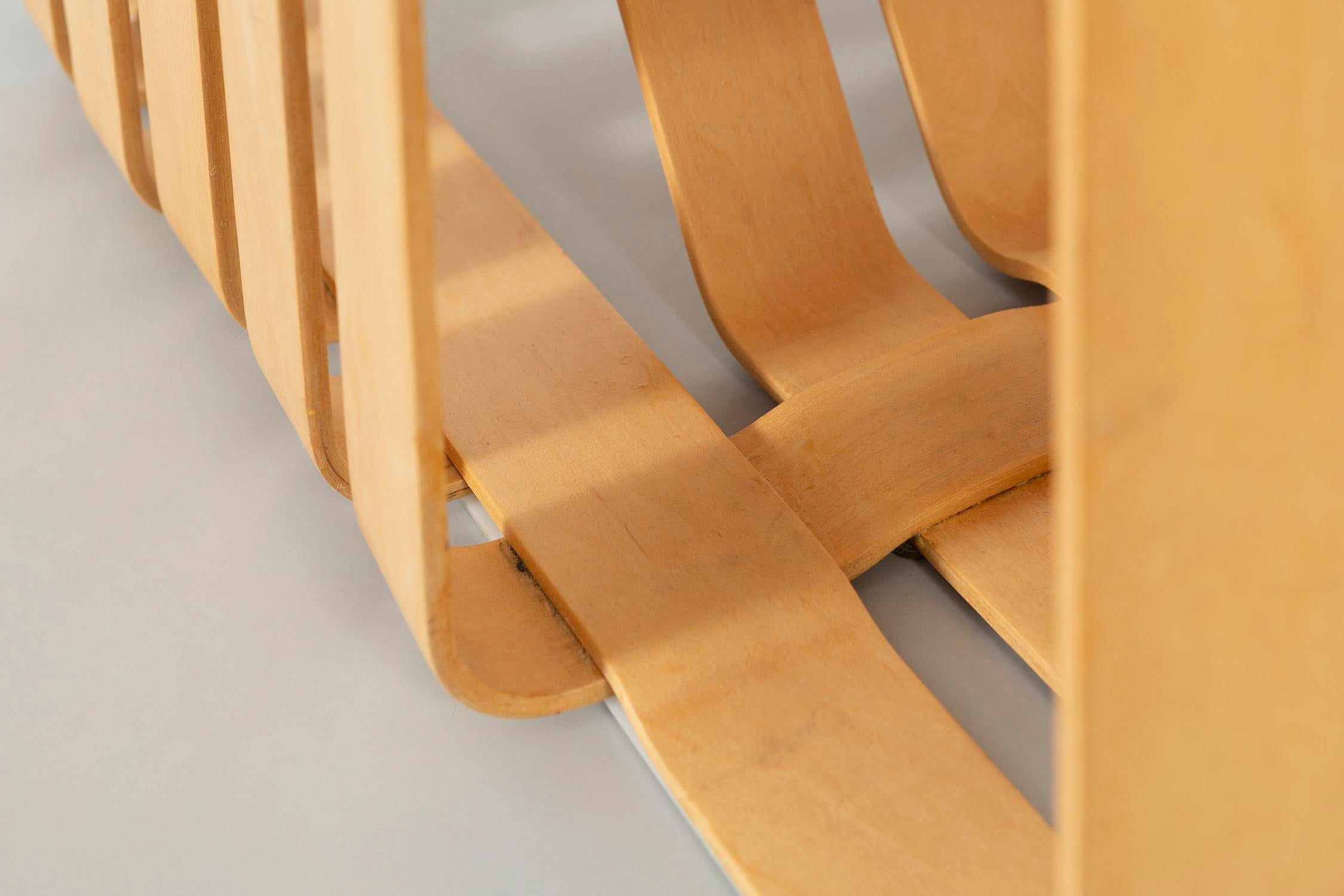 Set Of Six Frank Gehry High Sticking Chairs For Sale   Image 9 Of 13