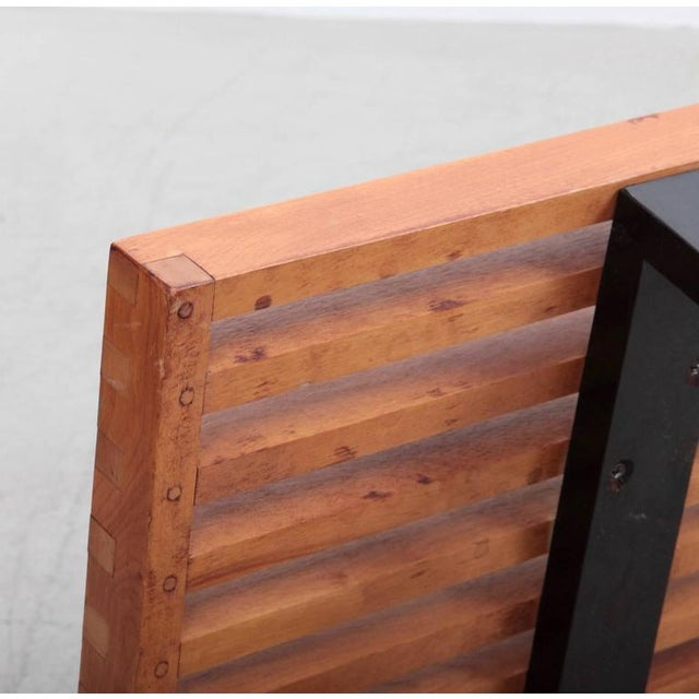 Maple Largest George Nelson Slat Bench for Herman Miller For Sale - Image 7 of 7