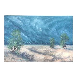 Segundo Huertas Original Canvas Landscape Painting For Sale