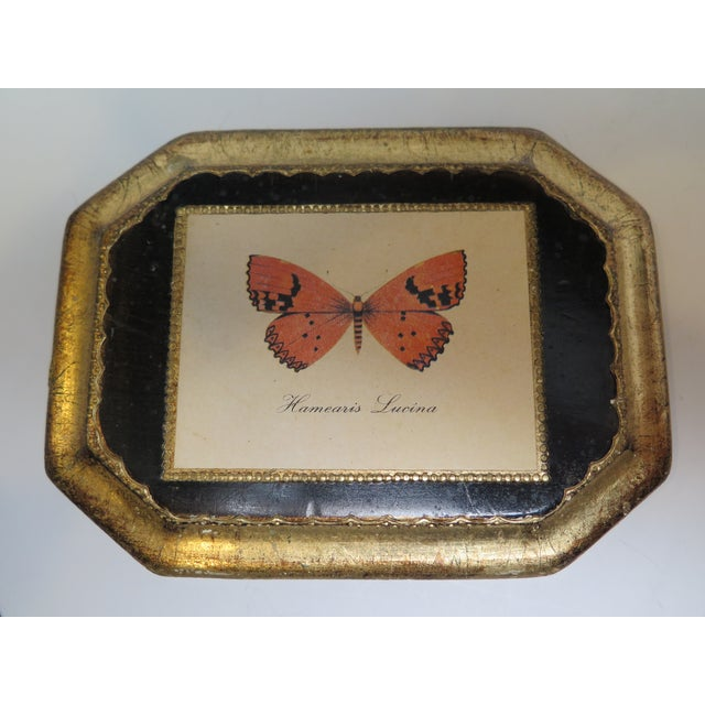 Butterfly Plaque Hanging Decopage Style For Sale In Los Angeles - Image 6 of 12