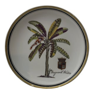 Decorative Ceramic Plate by Raymond Waites For Sale