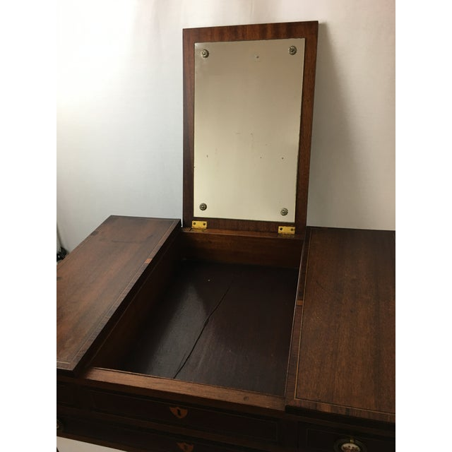 Early 20th Century Mahogany Vanity For Sale In New York - Image 6 of 13