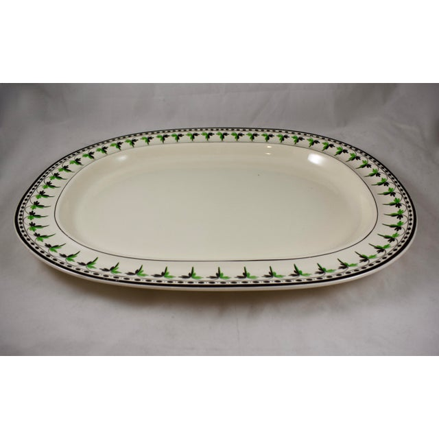 A rare find, a creamware platter from Josiah Spode, circa 1785. Spode is an English brand of pottery founded by Josiah...