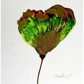 Poured Resin Botanical Art For Sale