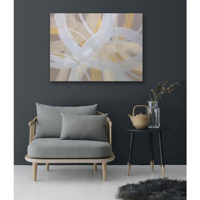 'CELESTiNE' original abstract painting by Linnea Heide - Image 5 of 8