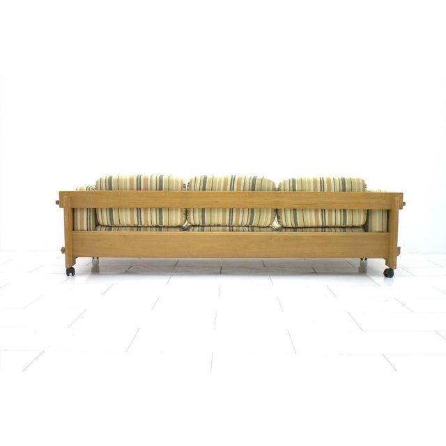 Mid-Century Modern Yngve Ekström Sofa in Oak, Sweden 1960s For Sale - Image 3 of 9