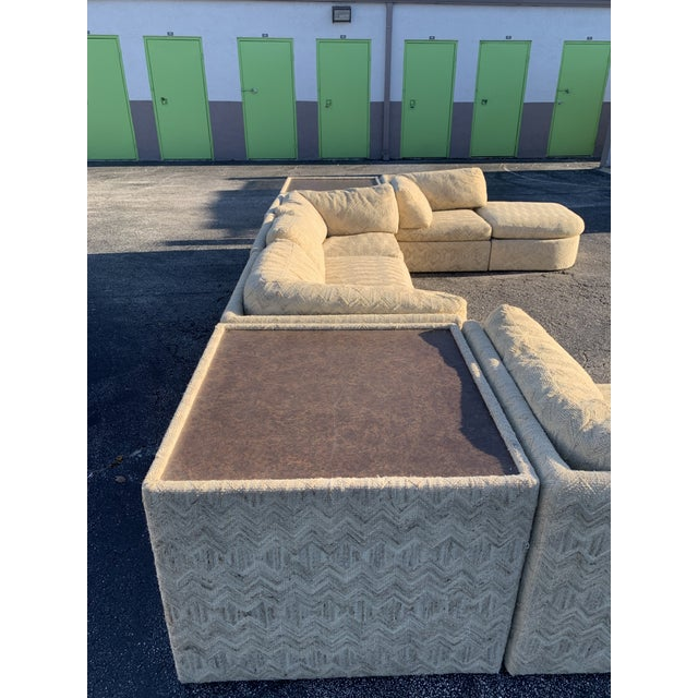 1970s Milo Baughman Sectional Sofa for Thayer Coggin For Sale In Miami - Image 6 of 13