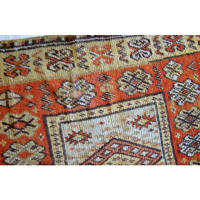 1900s Handmade Antique Moroccan Berber Rug 4' X 7.6' For Sale - Image 9 of 11