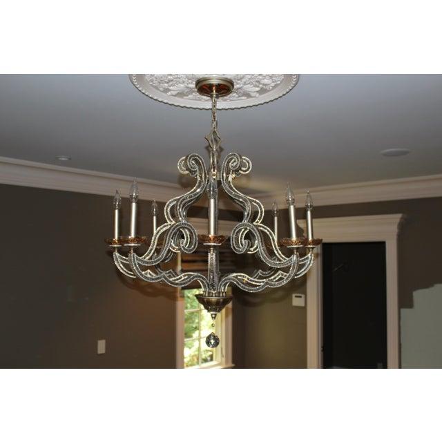 John richard paris 8 light chandelier chairish john richard paris 8 light chandelier image 5 of 9 mozeypictures Gallery