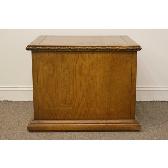 Brown 20th Century Italian Lane Furniture Commode For Sale - Image 8 of 12