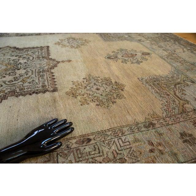 """Vintage Oushak Carpet - 6'11"""" x 9'11"""" For Sale - Image 5 of 6"""
